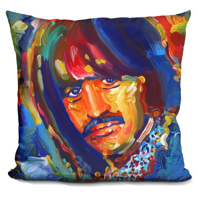 Ringo Starr Throw Pillow