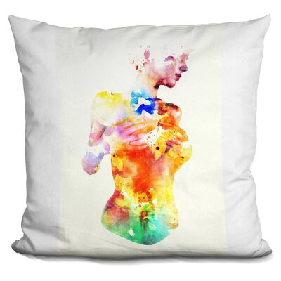 Crayon Throw Pillow