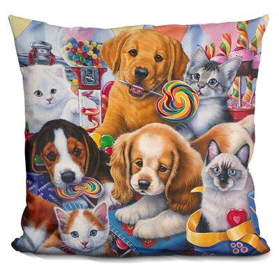 Sweet Ones Throw Pillow
