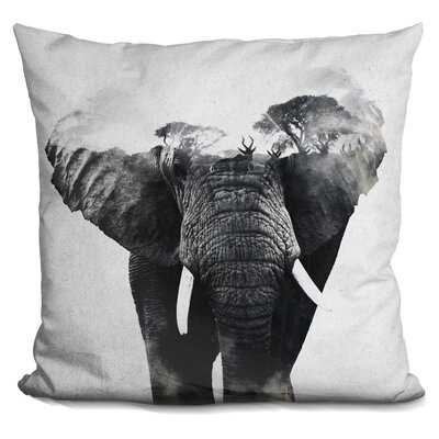Eckman Elefanten Throw Pillow