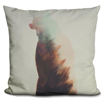 Leonidas Norwegian Woods Bear Throw Pillow