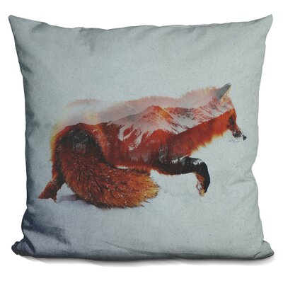Lemanski Fox Throw Pillow