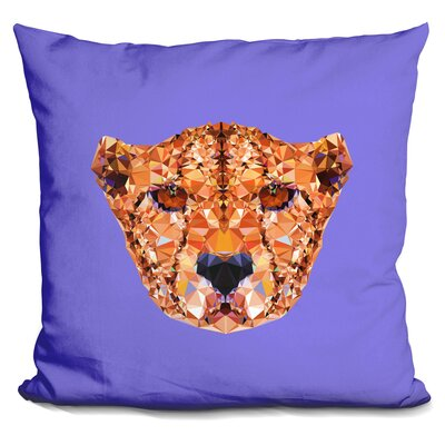 Corker Cheetan Throw Pillow