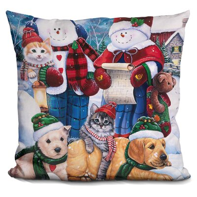 Wonder Friends Throw Pillow