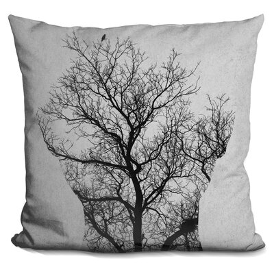 Olmeda Tree of Life Andreas Lie Throw Pillow