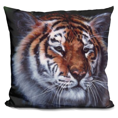 Tiger in The Midst Throw Pillow