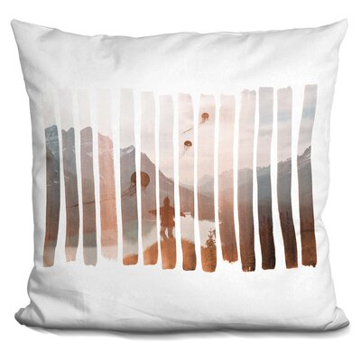 Penelope Up Stream Throw Pillow
