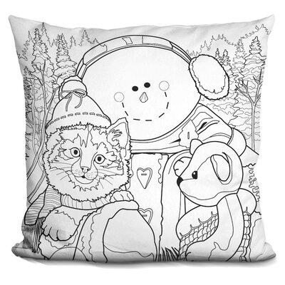 Berkey Christmas Cuties Throw Pillow
