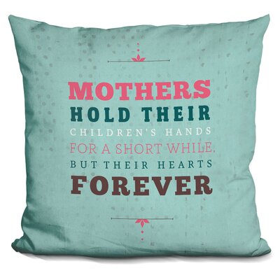 Genao Forever Mothers Throw Pillow