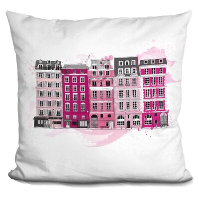 Elba City of Light Throw Pillow