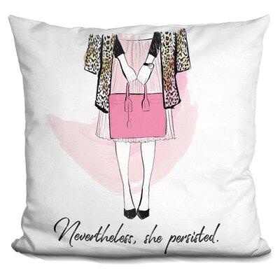 Isenhour Nevertheless Throw Pillow