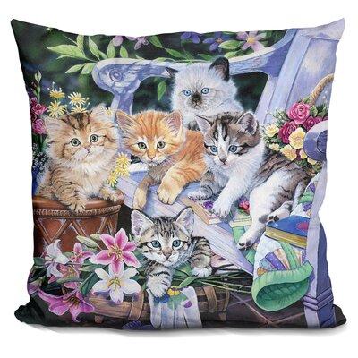 Perfect Gardening Buddies Throw Pillow