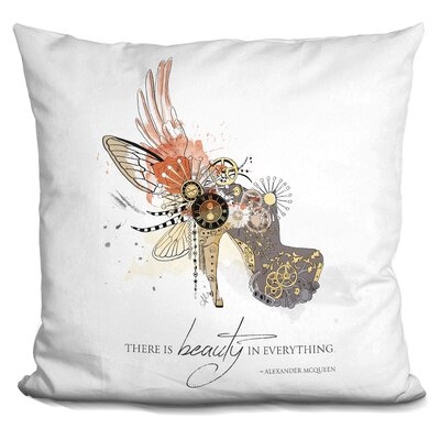 Marian Beauty is Timeless Throw Pillow