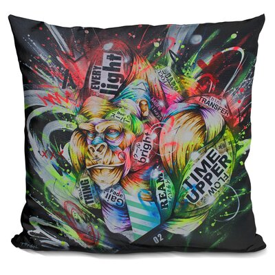 Where The Night Falls Throw Pillow