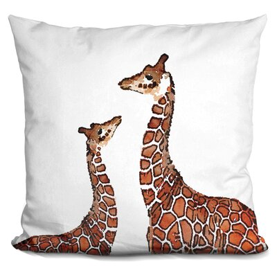 Perdomo Giraffe Throw Pillow
