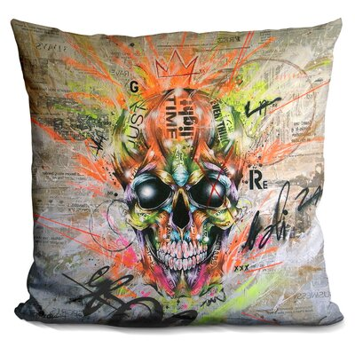Globalized Folklore Throw Pillow