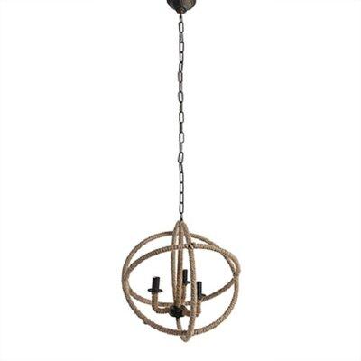 Kaya Vintage 3-Light Globe Pendant