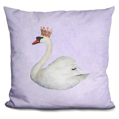 Sisk Swan Throw Pillow