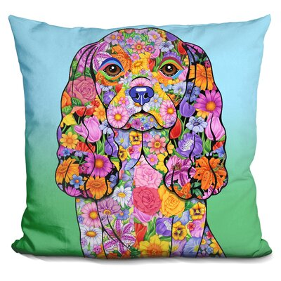 Cavalier King Chas Throw Pillow