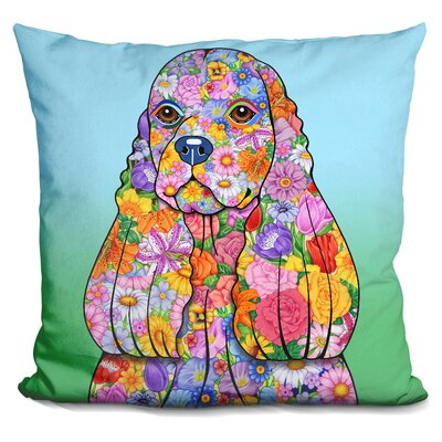 Cocker Spaniel Throw Pillow