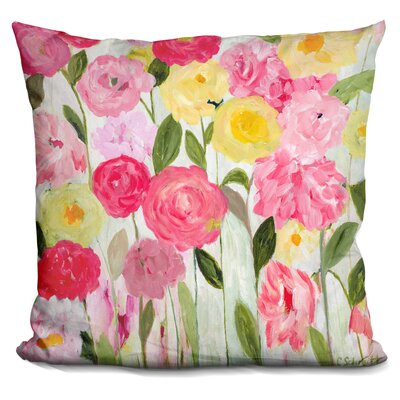 Topalian Margarets Flowers Throw Pillow