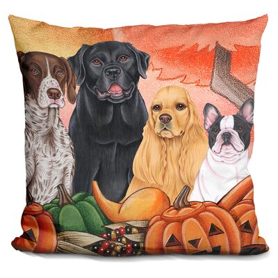 Great Indoor/Outdoor Harvest Throw Pillow