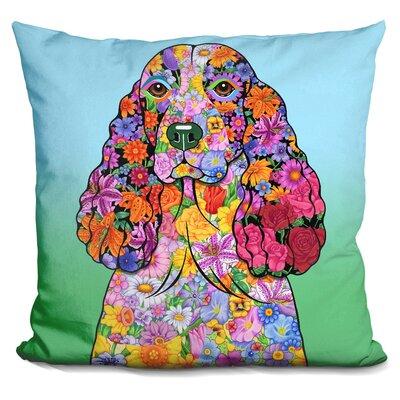 Springer Spaniel Throw Pillow