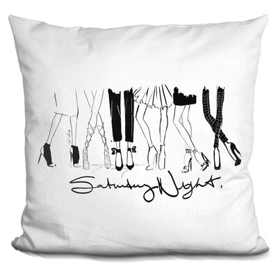 Hertford Saturday Night Throw Pillow