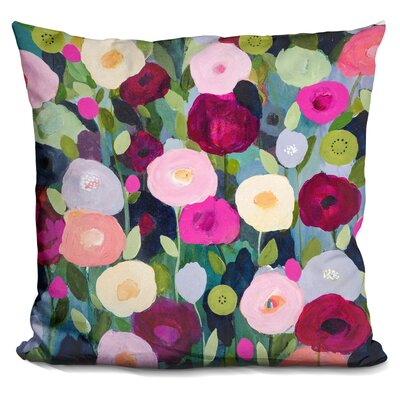 Gideon Night Garden Throw Pillow