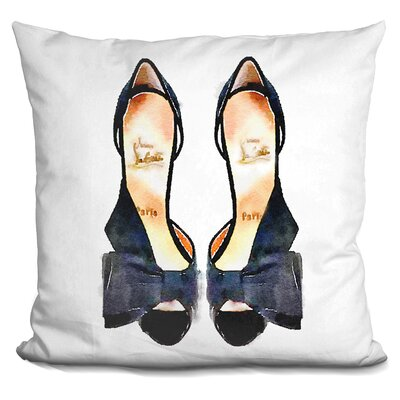 Jair New Shoes by Amanda G Throw Pillow