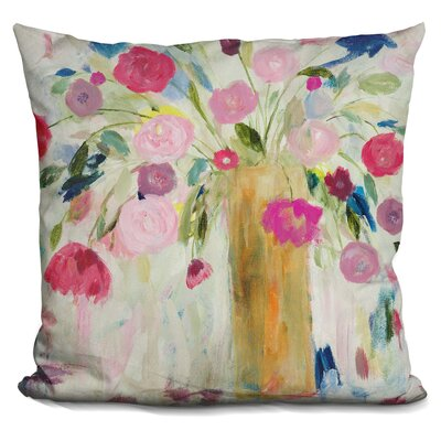 Friendship Blooms Throw Pillow