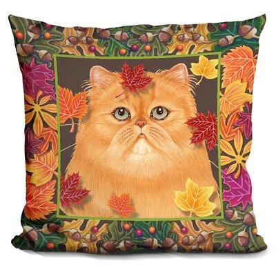 Autumn Persian Throw Pillow