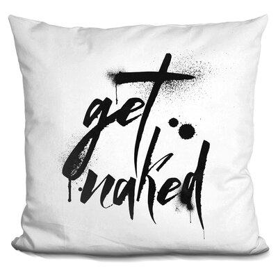 Slinkard Drip Naked Throw Pillow