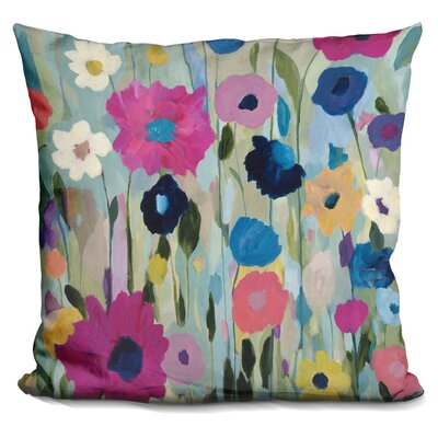 Gerling Wild Flowers Throw Pillow