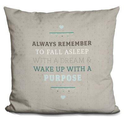 Gimenez Purposeful Dream Throw Pillow