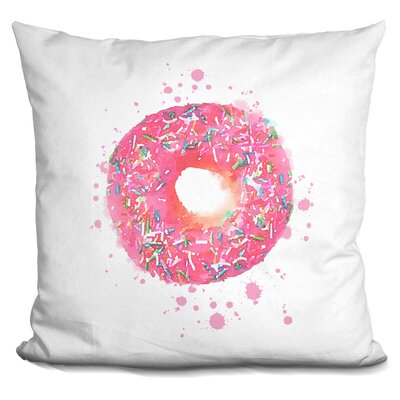 Sliva Donut Sprinkles Throw Pillow