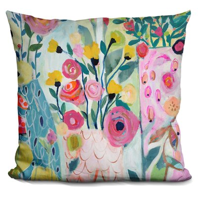 Vase of Love Throw Pillow