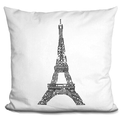 Ollie Eiffel Tower Throw Pillow