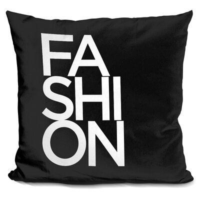 Markita Fashion Font Throw Pillow
