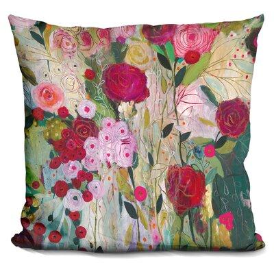 Matsuda Wild Rose Throw Pillow