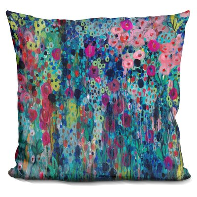 Painted Strings Throw Pillow