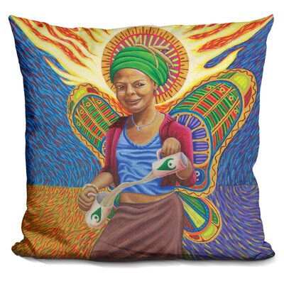 Astral Angel Throw Pillow