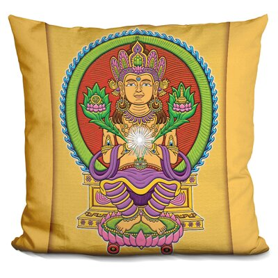 Echavarria Bodhichitta Buddha Throw Pillow