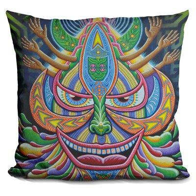Galaktic Alchemist Throw Pillow