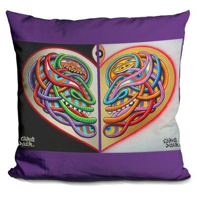 Heart Intelligence Throw Pillow
