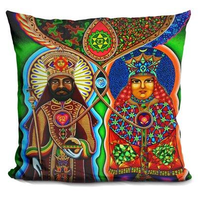 King N Queen Throw Pillow