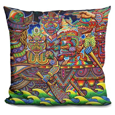 Optimystics Journey Web Throw Pillow
