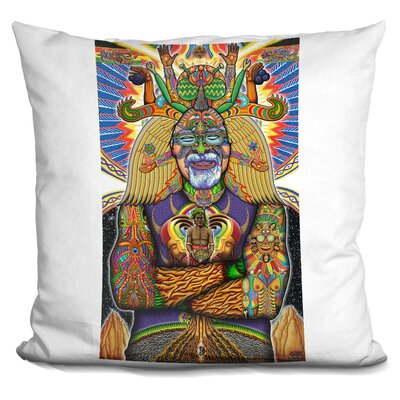 Steven Beyer Digital Portrait Throw Pillow