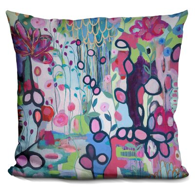 Markey In The Flow Throw Pillow