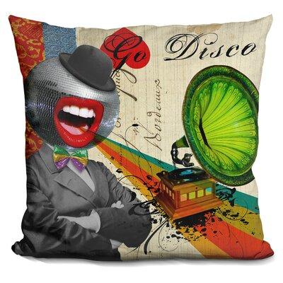 Go Disco Throw Pillow